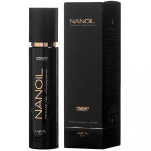 Włosy średnioporowate Nanoil